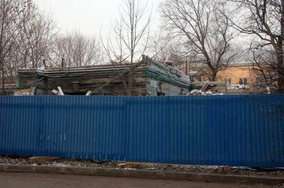 Снос на Московской, 31