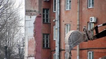 Снос завода Эскалатор