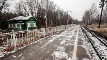 Станция Тарховка в Сестрорецке
