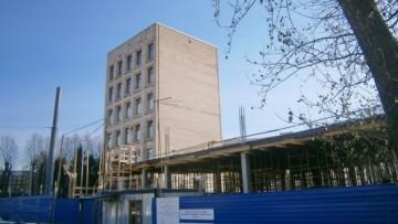 Строительство нового корпуса НПО Аврора