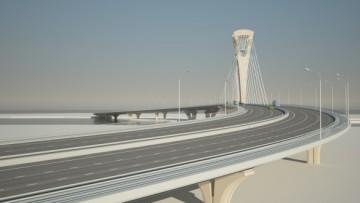 Вантовый мост через Малую Неву