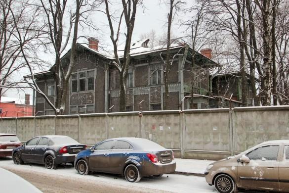 Административное здание завода Экваля в Красногвардейском переулке, 15