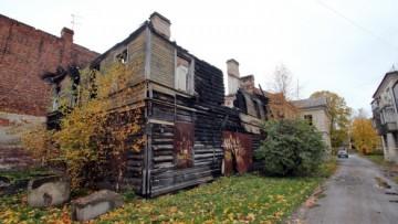 Деревянный дом на Никольской, 6, в Петергофе