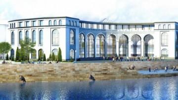 Дворец бракосочетания на Малоохтинском, проект