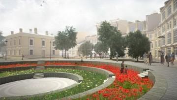 Гостиный двор, амфитеатр