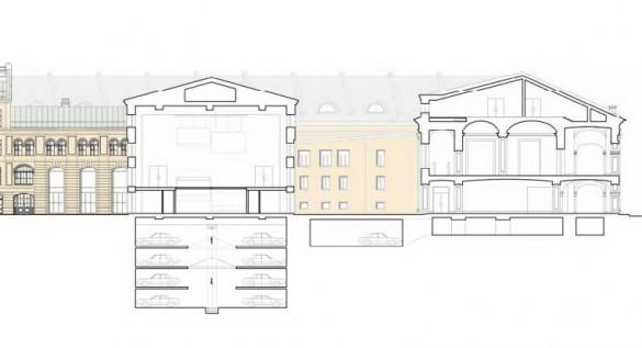 Гостиный двор, подземные этажи