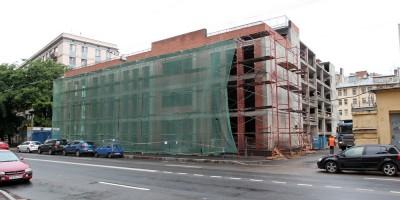 Киевская улица, строительство бизнес-центра