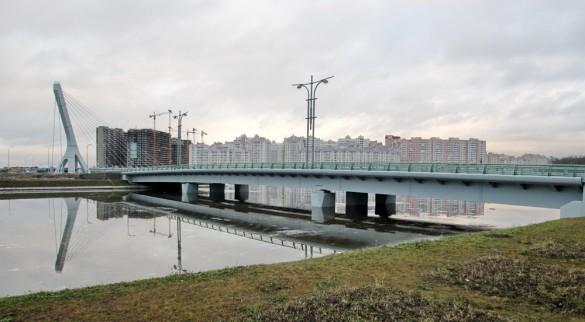 Мост через Матисов канал на улице Катерников
