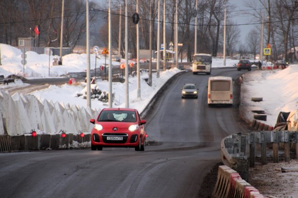 Мост через Пулковку
