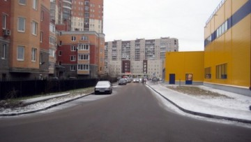 Новый переулок у Ленты в Коломягах