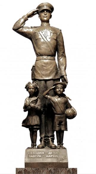 Памятник Дядя Степа - милиционер
