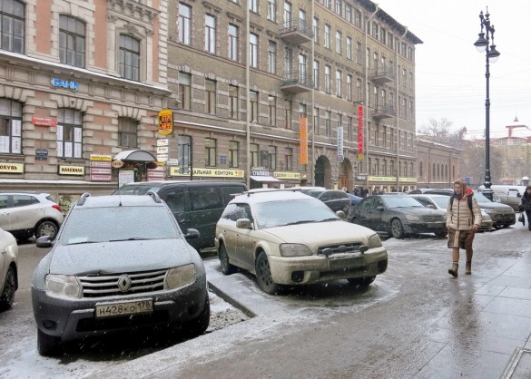 Парковка на улице Восстания