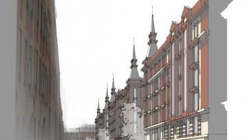 Проект жилого комплекса, Короленко