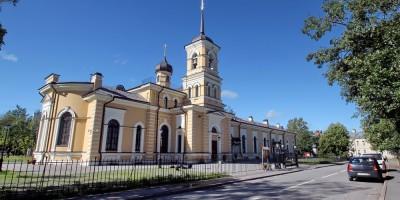 Пушкин, церковь Сергия Радонежского