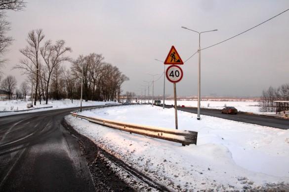 Старая и новая трассы Петербургского шоссе