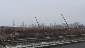 Строительство гипермаркета К-руока в Петергофе