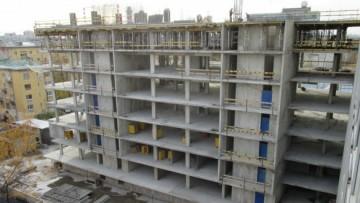 Строительство дома на улице Грота