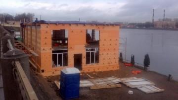 Строительство кафе на Обуховской Обороны