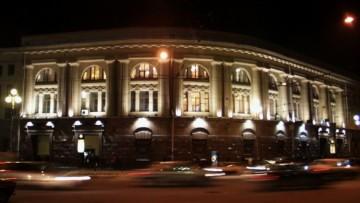 Технологический институт станция метро (подсветка)