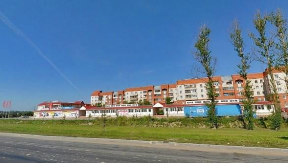 Торговый центр на Пулковском шоссе, 105