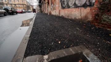 Тротуар Малой Разночинной улицы