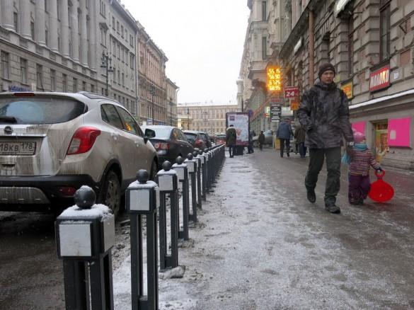 Тротуар улицы Восстания