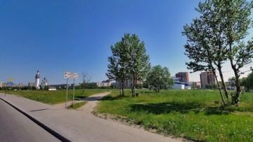 Улица Подвойского, парк Строителей