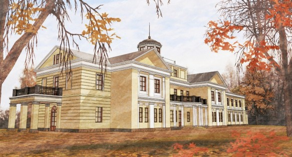 Усадьба Отрада в Ломоносове, проект