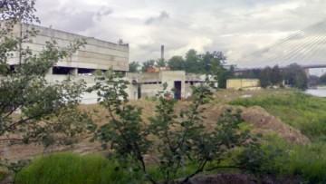 Водопроводная станция у сада Спартак