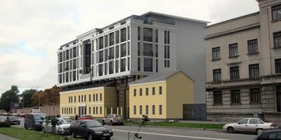 Бизнес-центр на Введенском канале, 4