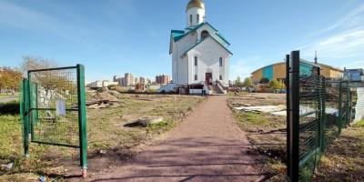 Церковь Серафима Вырицкого в Купчине