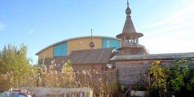 Церковь Серафима Вырицкого в Купчине, деревянная часовня