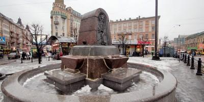 Фонтан-поилка на Сенной площади