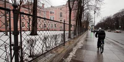 Ограда Университета Мечникова на Кирочной