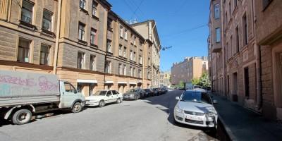 Переулок возле улицы Воскова