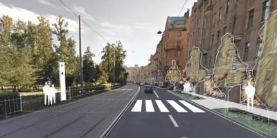 Проект перехода в Александровский парк