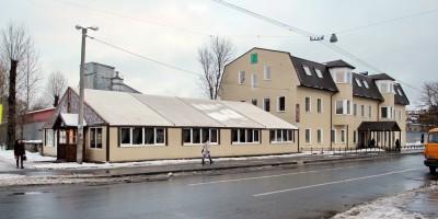 Ресторан Лен на улице Ивана Черных