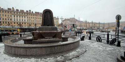 Сенная площадь, фонтан-поилка