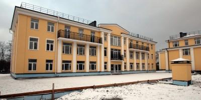 Строительство жилого комплекса на Фабричной улице