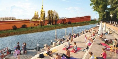 Террасы в Александровском парке