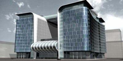 Торгово-офисный комплекс Sky City на Обводном канале