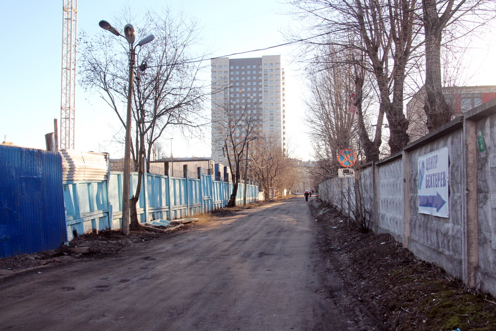 Улица Ивана Зубкова