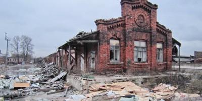 Восточный пакгауз Варшавского вокзала
