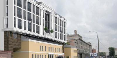 Введенский канал, 4, проект бизнес-центра