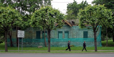 Экипажный сарай в Пушкине
