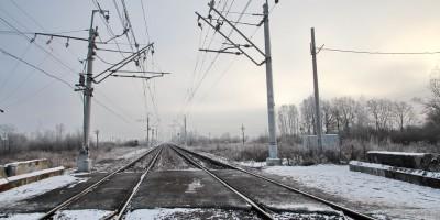 Железная дорога, переезд