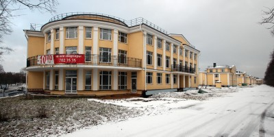 Жилой комплекс Династия на Фабричной улице в Петергофе