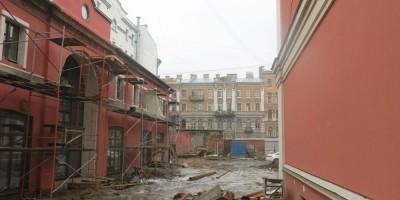 Двор усадьбы Мясникова