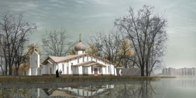 Храм Сошествия Святого Духа, Колпино, проект