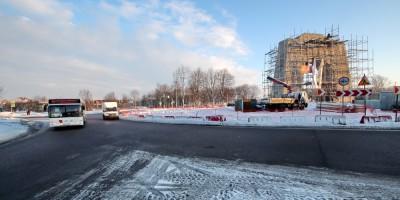 Круглая площадь и Арка Победы в Красном Селе